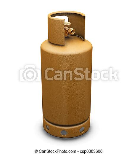 Propane gas - csp0383608