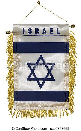 Israel Flag - csp0383658