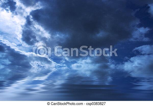 gloomy weather background