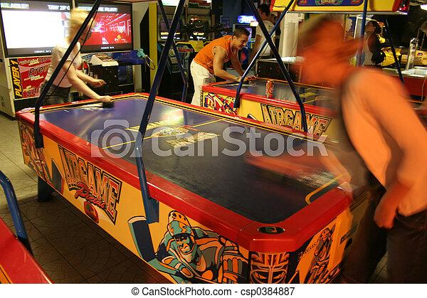 Amusement Arcade - csp0384887