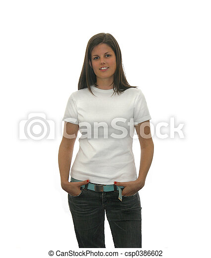 teen t shirt - csp0386602