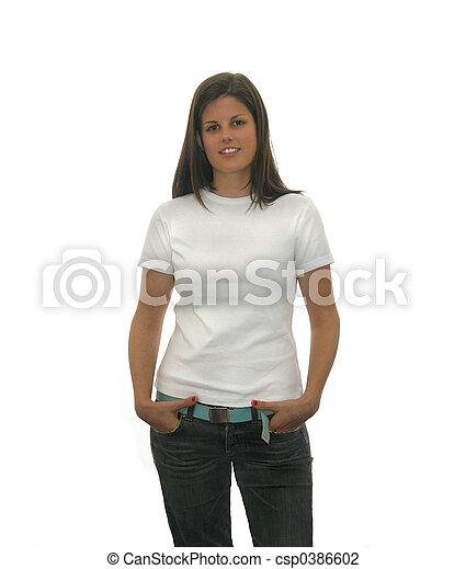 teen t shirt - csp0386602