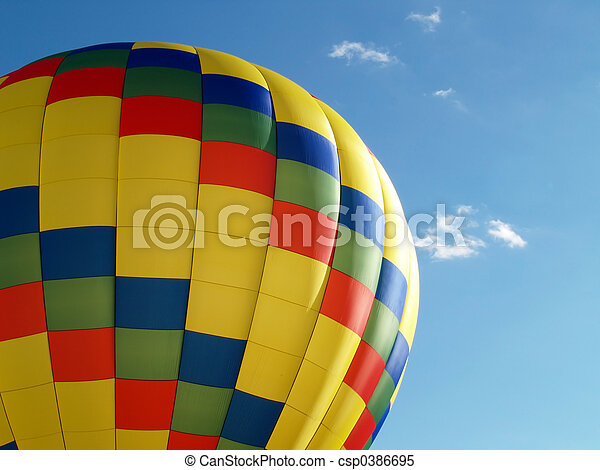 hot air balloon - csp0386695