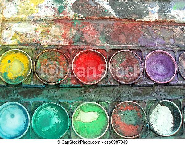 color palette box - csp0387043