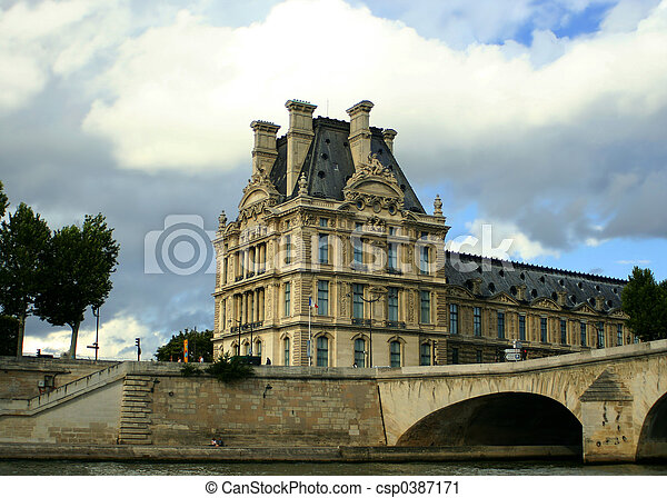 Paris architecture - csp0387171
