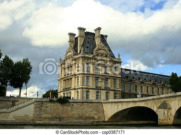 Paris architecture - csp0387171