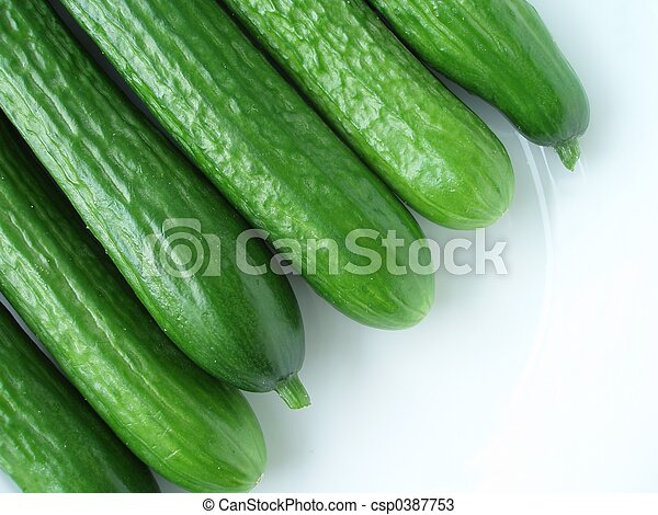 green cucumber - csp0387753