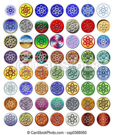Atom nucleus 2 - csp0388060