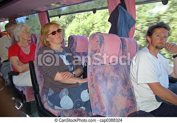 Coach trip - csp0388324