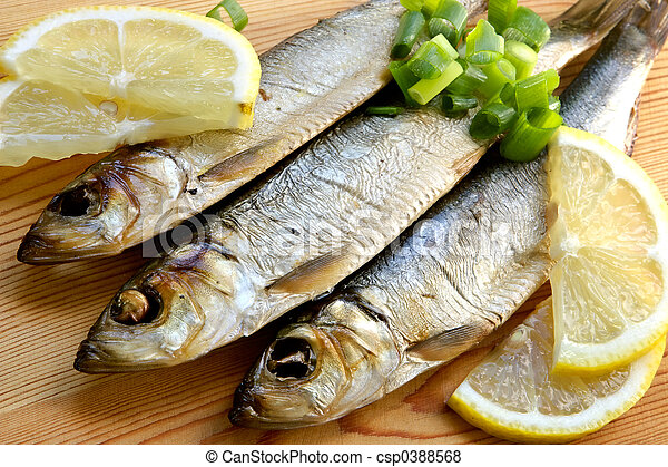 Smoked sprat-appetizing snack - csp0388568