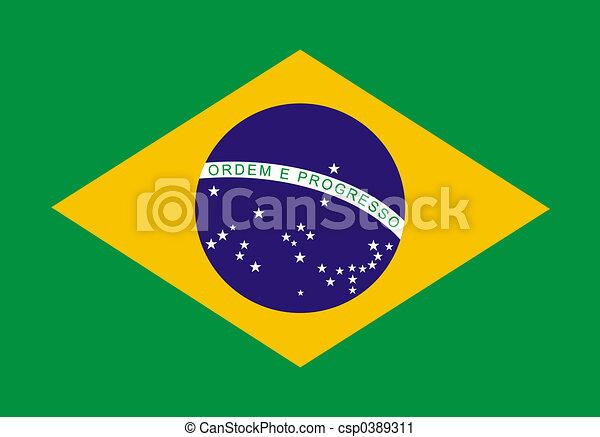 Brazilian Flag - csp0389311