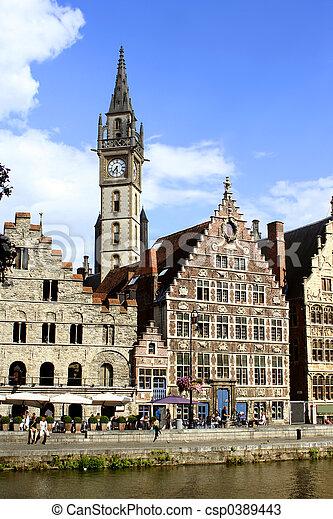 Ghent architecture - csp0389443