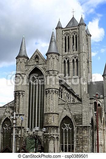 gothic church - csp0389501