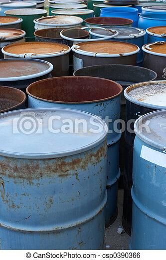 Waste Barrels - csp0390366