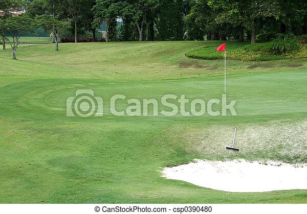 Golf course - csp0390480