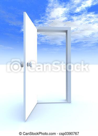 Door to Freedom - csp0390767