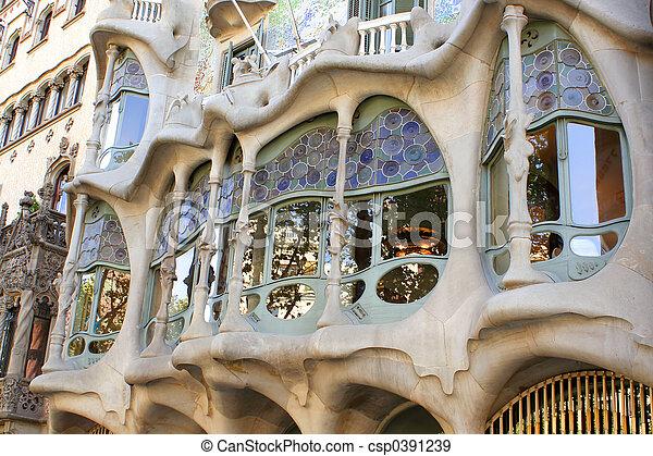 Barcelona architecture - csp0391239