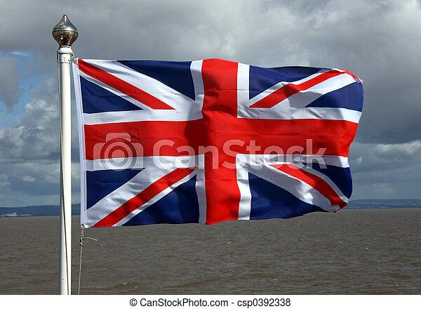 Union Jack Flag - csp0392338