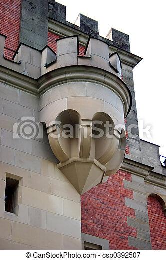 Castle Balcony - csp0392507