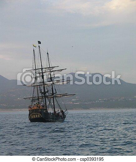 Pirate Ship - csp0393195
