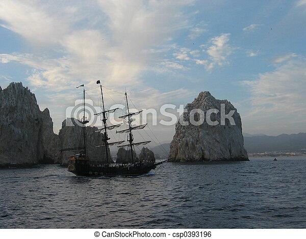 Baja Pirate Ship - csp0393196