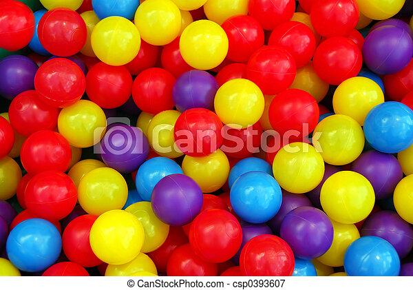 Playground balls - csp0393607