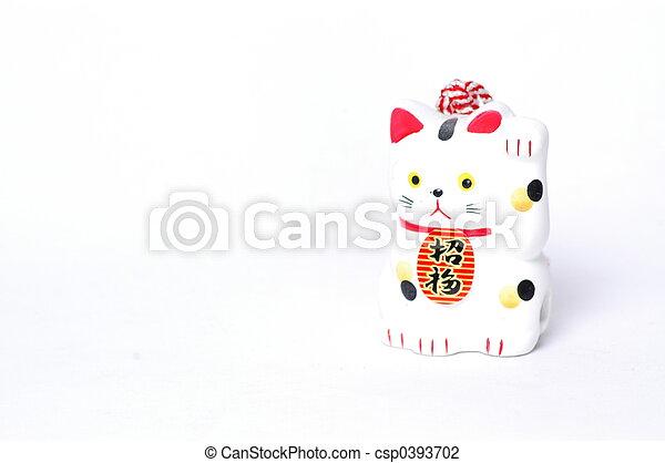 Good Luck Cat - csp0393702