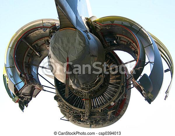 C-17 Military Aircraft Engine - csp0394013