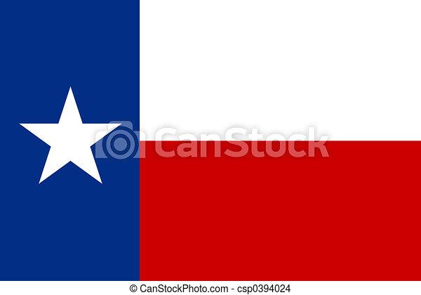 Flag of Texas - csp0394024