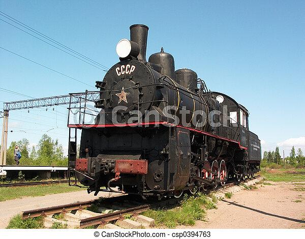 Steam locomotive - csp0394763