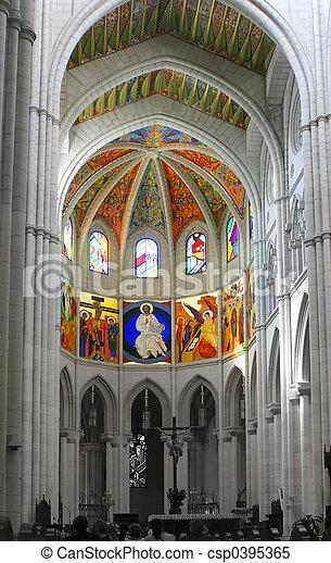 church altar - csp0395365