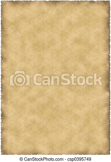 old parchment - csp0395749