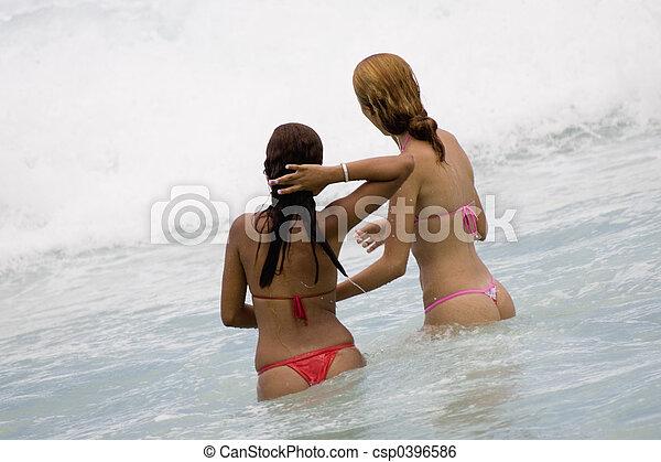 Copacabana, plage - csp0396586
