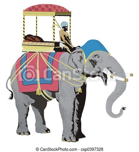 illustration de inde l phant csp0397328 recherchez des clip art eps des dessins des. Black Bedroom Furniture Sets. Home Design Ideas