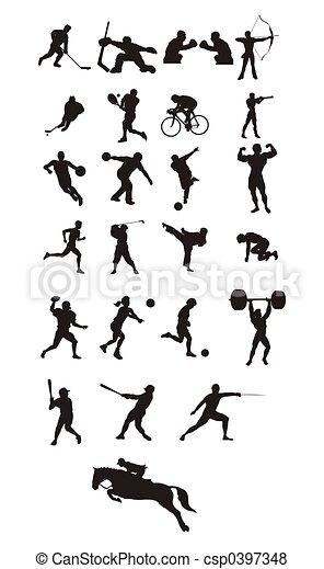 sport icons - csp0397348
