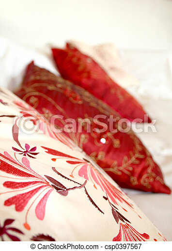 Red Pillows - csp0397567
