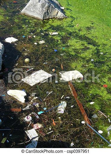 water pollution - csp0397951