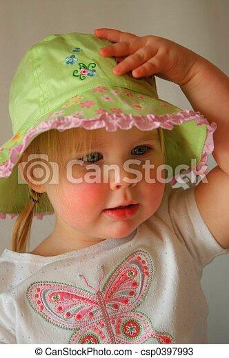 Babe in Hat II - csp0397993