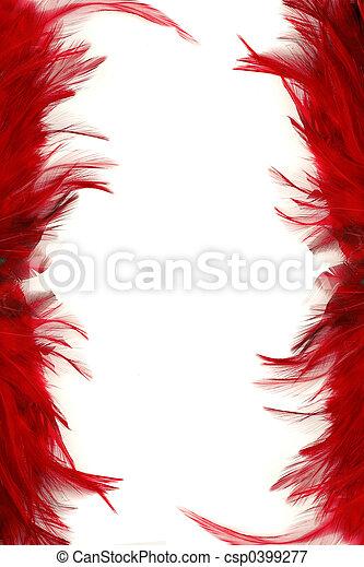 feather borders - csp0399277