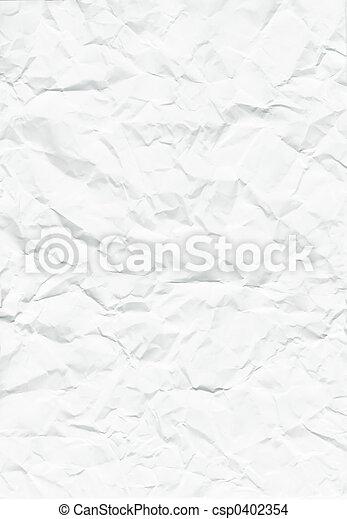Crumpled paper - csp0402354