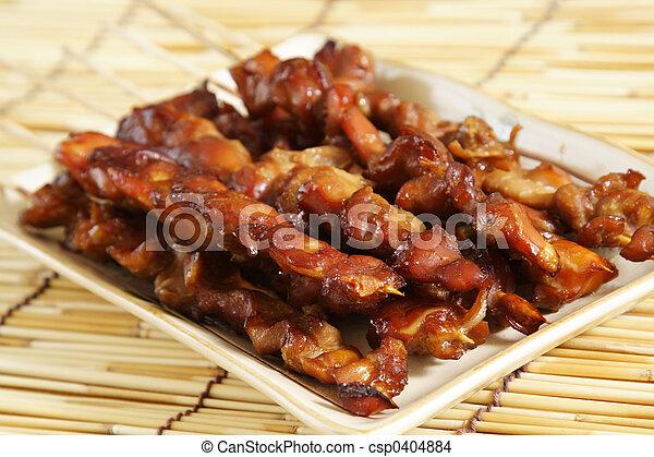 Chicken satay - csp0404884