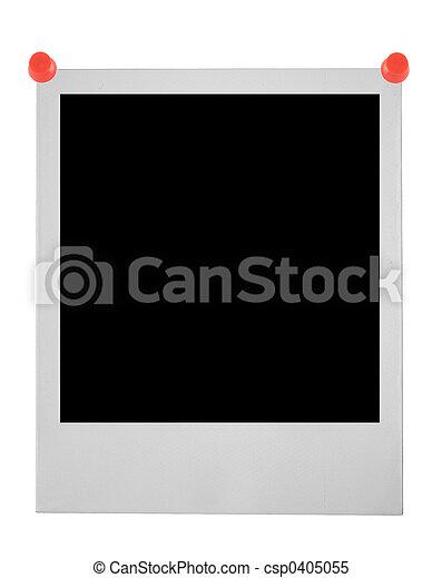 blank polaroid pinne - csp0405055