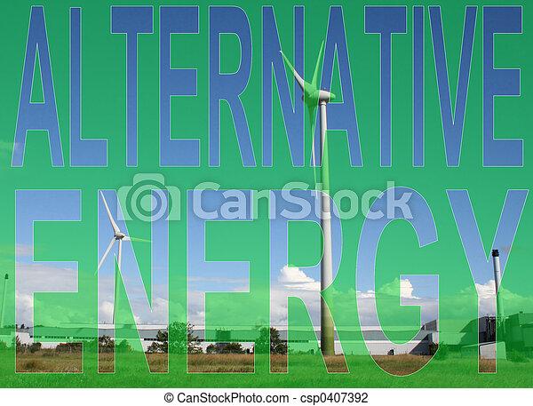 Alternative energy - csp0407392