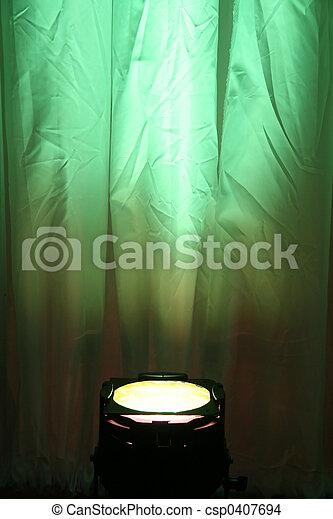 Green Spotlight - csp0407694