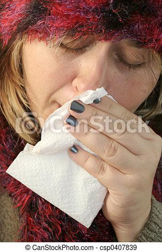 sickness - csp0407839