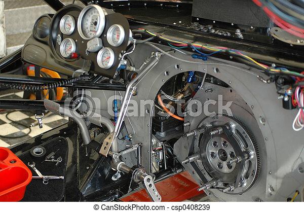 stock photographs of funny car cockpit complex funny car dragster interior csp0408239. Black Bedroom Furniture Sets. Home Design Ideas