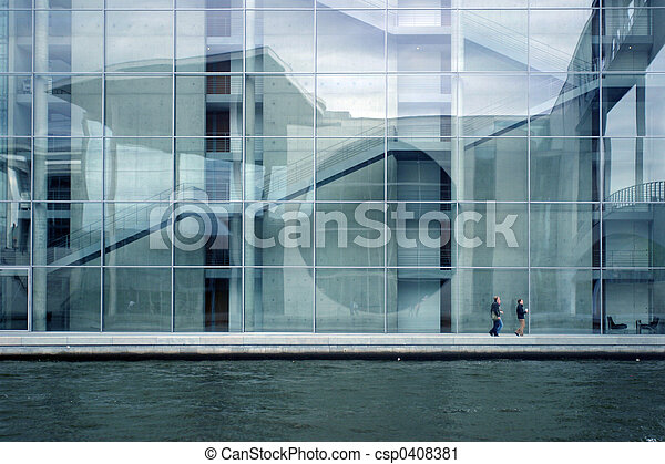 Contemporary architecture - csp0408381