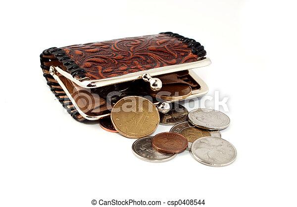 money change purse