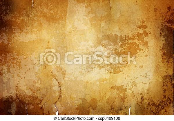 warm vintage background with dark border - csp0409108