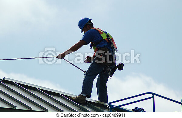 Construction worker - csp0409911